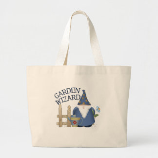 Garden Wizard Large Tote Bag