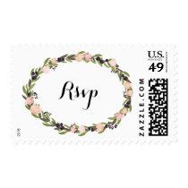 Garden Wreath RSVP Stamp