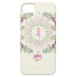 Garden yoga I SAW iPhone SE/5/5s Case