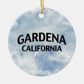 Gardena California Ceramic Ornament