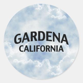 Gardena California Classic Round Sticker