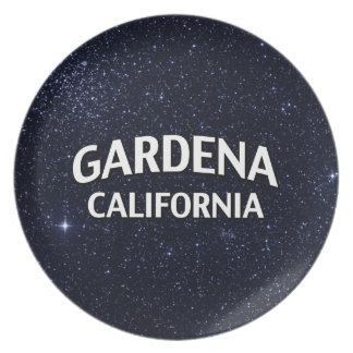 Gardena California Melamine Plate