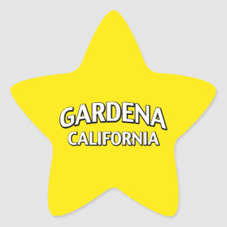 Gardena California Star Sticker