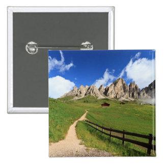 Gardena pass - Cir Dolomites Pinback Buttons