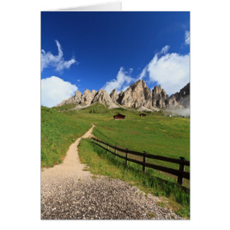 Gardena pass - Cir Dolomites Card