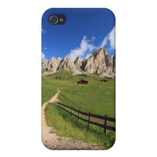Gardena pass - Cir Dolomites iPhone 4 Cases