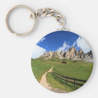 Gardena pass - Cir Dolomites Keychain