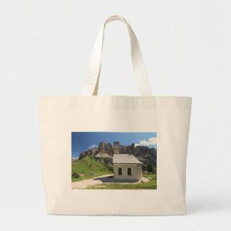 Gardena pass - small church bags
