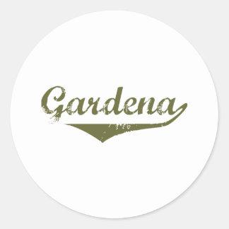 Gardena Revolution t shirts Classic Round Sticker