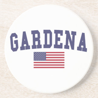 Gardena US Flag Coaster