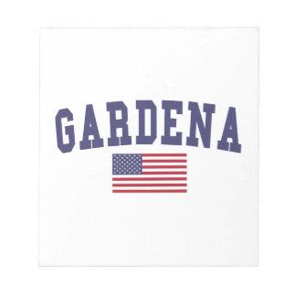 Gardena US Flag Notepad