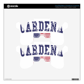 Gardena US Flag Skin For PS3 Controller