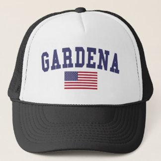 Gardena US Flag Trucker Hat