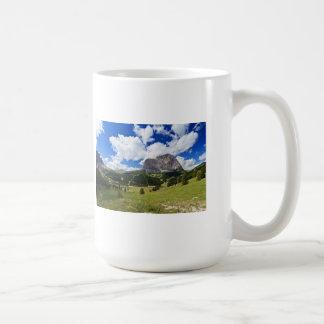 Gardena valley and Sassolungo mount Classic White Coffee Mug