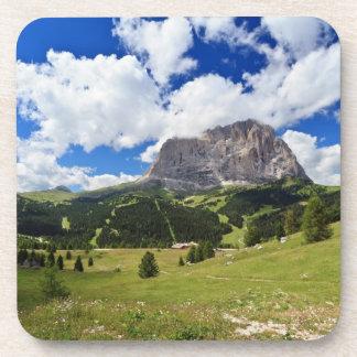 Gardena valley and Sassolungo mount Coaster