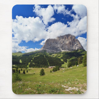 Gardena valley and Sassolungo mount Mouse Pad