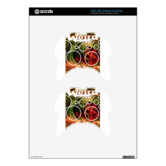 Gardener and Napping Woman Xbox 360 Controller Skins