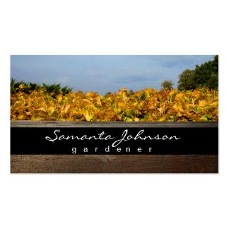 Gardener Business Card