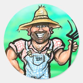 Gardener Classic Round Sticker