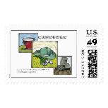 Gardener Defined Postage Stamp