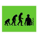 Gardener Evolution Postcards