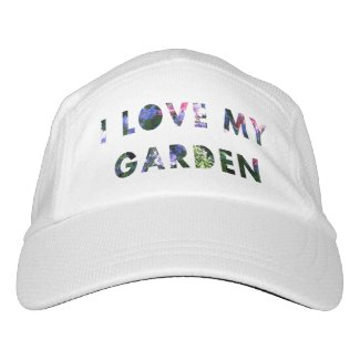 Gardener I Love My Garden Floral Text
