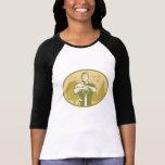 Gardener Landscaper Farmer Retro T Shirt
