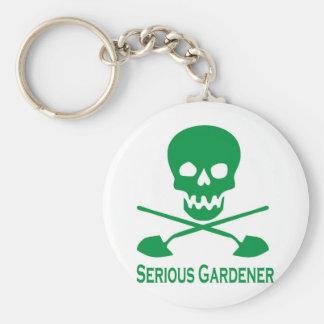 gardener llavero redondo tipo pin