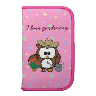 gardener owl folio planner