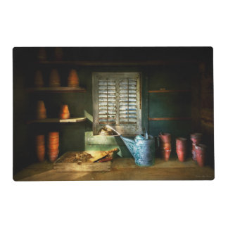 Gardener - The potters shed Placemat