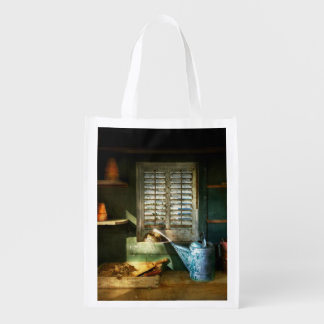 Gardener - The potters shed Reusable Grocery Bag