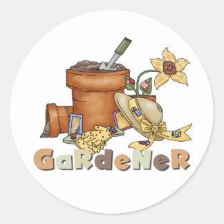 Gardener Tshirts and Gifts Sticker