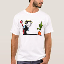 Gardener with Carrot T-Shirt
