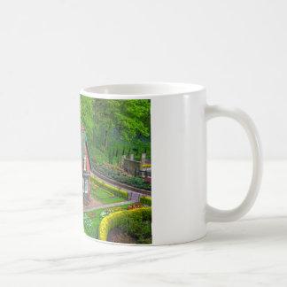 Gardener's cottage classic white coffee mug