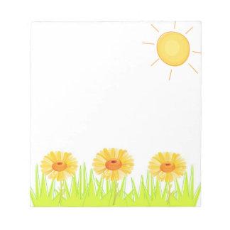 Gardener's Delight Notepad