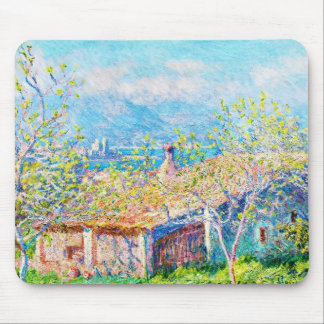 Gardener's House at Antibes Claude Monet Mouse Pad