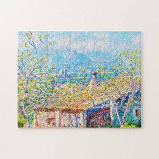 Gardener's House at Antibes Claude Monet Jigsaw Puzzle
