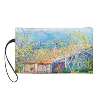 Gardener's House at Antibes Claude Monet Wristlet