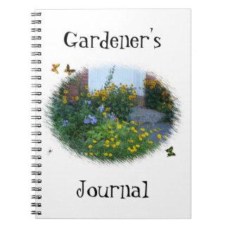 Gardener's Journal-Flowers/Butterflies Notebook