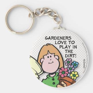 Gardeners Love To... Keychain