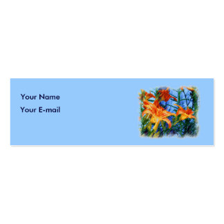 Gardener's Profile Card Business Card Templates
