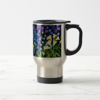 gardenflowers 563160 15 oz stainless steel travel mug