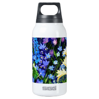 gardenflowers 563160 10 oz insulated SIGG thermos water bottle