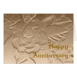 Gardenia Anniversary Card