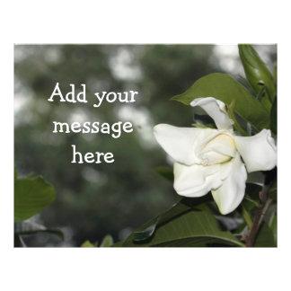 Gardenia Background Flyer