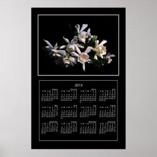 Gardenia Bouquet 2013 Calendar Print