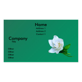 Gardenia Business Card