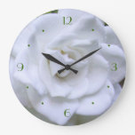 Gardenia del tiempo de la flor relojes