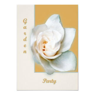 Gardenia 5x7 Paper Invitation Card