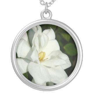 Gardenia Silver Necklace